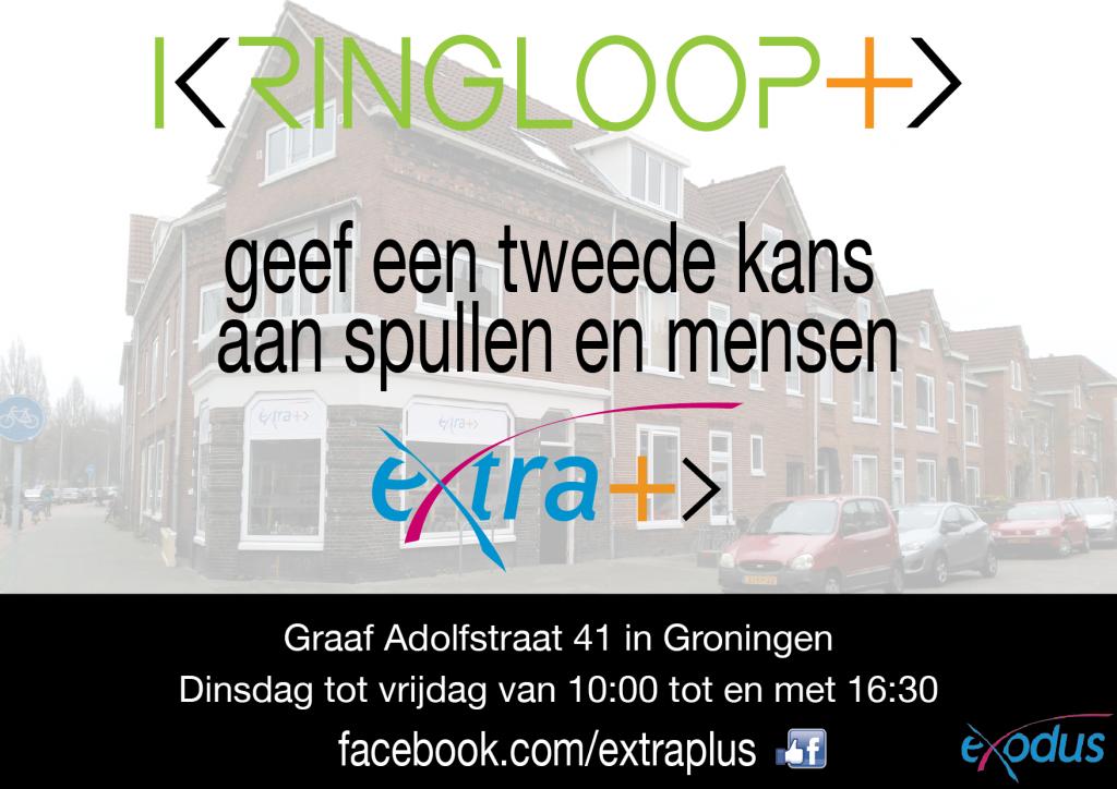 eXtra+ | Kringloopplus kringloop kringloopwinkel kringloopdag kringloop+